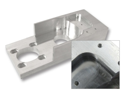 Aluminum CNC Lathe Housing
