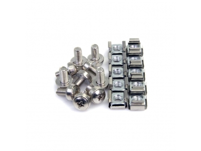 White Zinc Cage Nut With P...