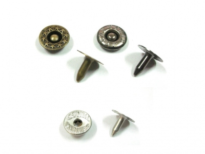 Zinc Alloy Rivet for Jeans